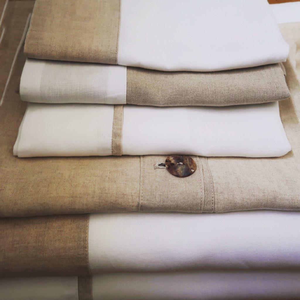 ropa de hogar con SEMILLAS DE LINO